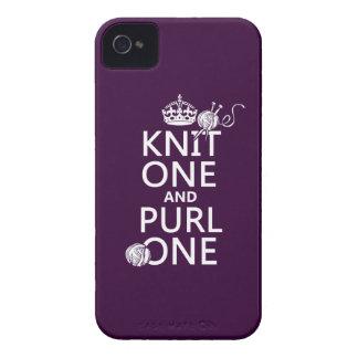 Punto uno y puntilla una guarde tranquilo-todos c iPhone 4 fundas