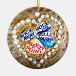 Punto ventoso del AMOR. Rockaways. Ornamentos De Navidad