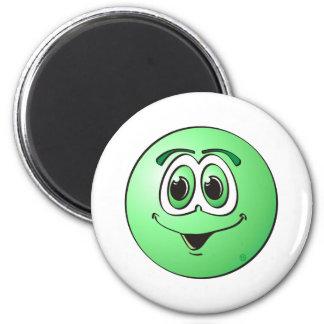 Punto verde imán redondo 5 cm