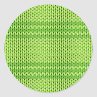 Punto verde pegatina redonda