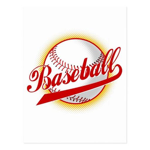puntos basebal del tono medio de la bola postal