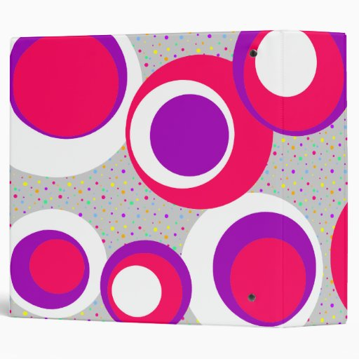 """puntos blancos púrpuras rosados de los puntos carpeta 2"""""""