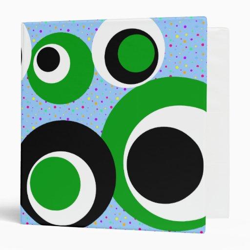 puntos blancos verdes negros de los puntos