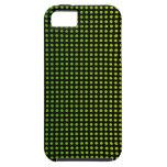 Puntos brillantes en negro iPhone 5 Case-Mate funda