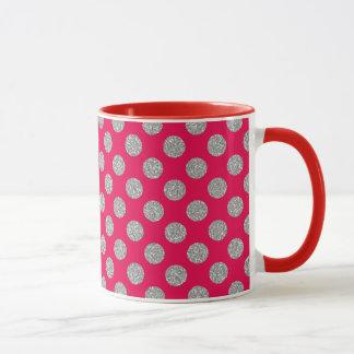 Puntos brillantes - personalizado su color/estilo taza