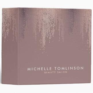 """Puntos color de rosa elegantes del confeti del oro carpeta 2"""""""