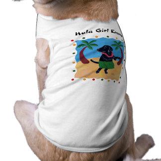 Puntos coloridos personalizados de Labrador del ne Playera Sin Mangas Para Perro