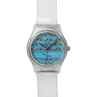 Puntos conocidos personalizados de las fritadas de relojes