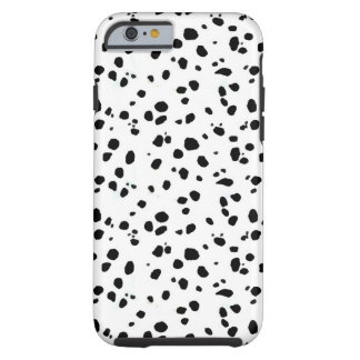 Puntos dálmatas, Dalmatian, piel Funda De iPhone 6 Tough