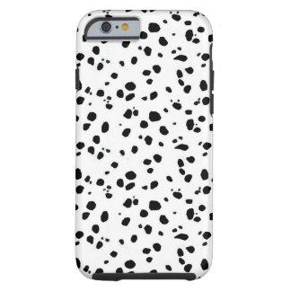 Puntos dálmatas, Dalmatian, piel Funda Para iPhone 6 Tough