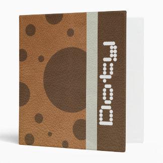 """Puntos de BrownScattered en textura del cuero del Carpeta 1"""""""
