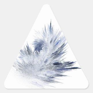 Puntos de Frost Pegatina Triangular