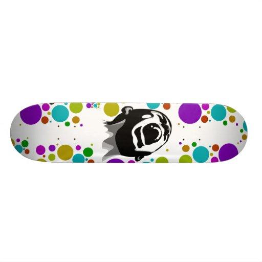 Puntos de griterío tablas de patinar