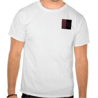 Puntos de la baya en la camiseta negra