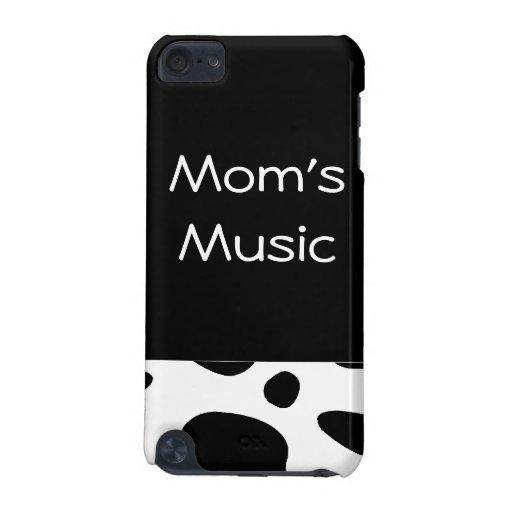 Puntos de la cubierta del iPad de la música de las