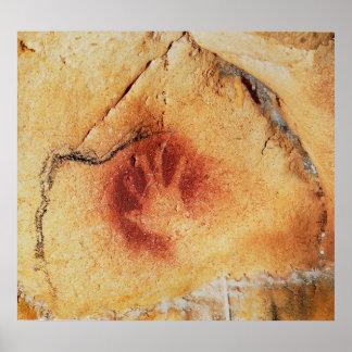 Puntos de la cueva de Chauvet Póster