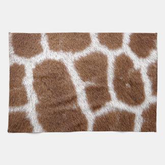 Puntos de la jirafa toalla