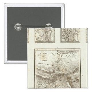 Puntos de la parte y comunicaciones proyectadas pin cuadrada 5 cm