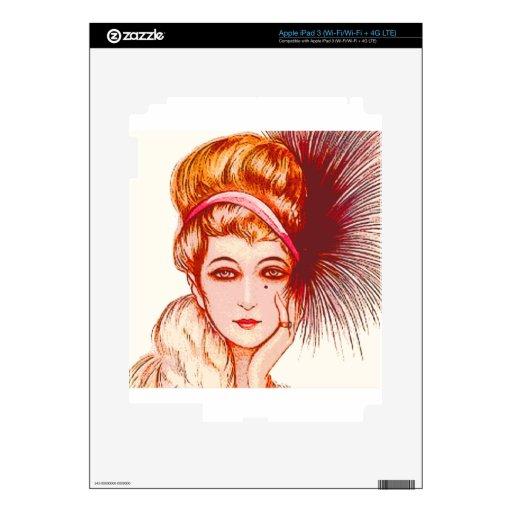 Puntos de la pluma iPad 3 pegatinas skins