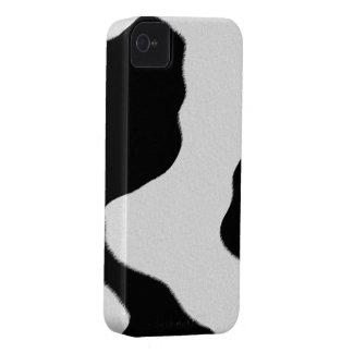 Puntos de la vaca carcasa para iPhone 4