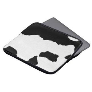 Puntos de la vaca fundas portátiles