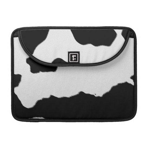 Puntos de la vaca fundas macbook pro