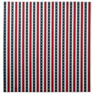 Puntos de las rayas servilletas de papel