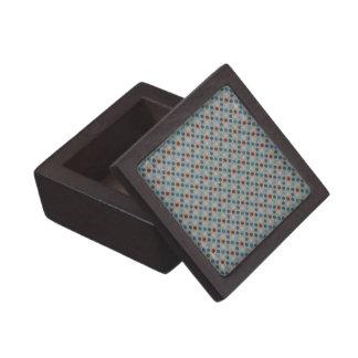 Puntos de lino náuticos cajas de recuerdo de calidad