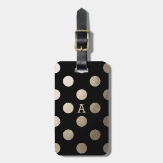 Puntos de lujo personalizados del | etiquetas para maletas