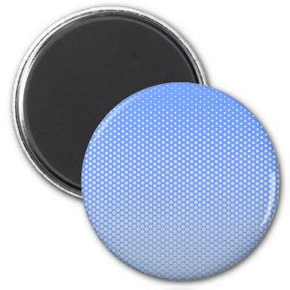 Puntos de plata en CUALQUIE botón del personalizad Imán Redondo 5 Cm