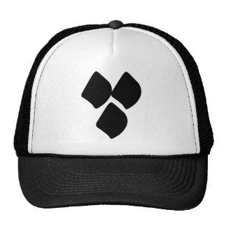Puntos del amor - negro gorras
