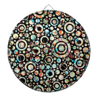 Puntos del color y modelo del círculo + su texto y