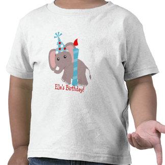 Puntos del elefante camiseta