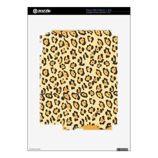 Puntos del guepardo calcomanías para iPad 2