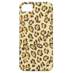 Puntos del guepardo iPhone 5 cárcasas