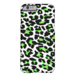 Puntos del leopardo de PixDezines Funda De iPhone 6 Barely There