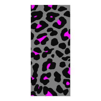 Puntos del leopardo del tigre 80s de Corey Invitacion Personalizada