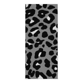 Puntos del leopardo del tigre 80s de Corey Invitación Personalizada