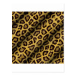 Puntos del leopardo postales