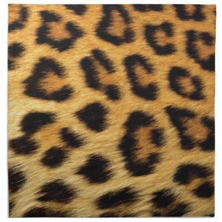 Puntos del leopardo servilletas
