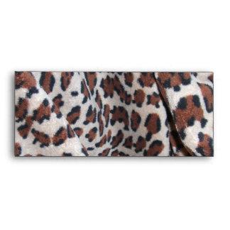 Puntos del leopardo sobres
