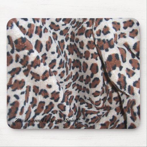 Puntos del leopardo tapete de raton