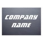 Puntos del metal tarjetas de negocios