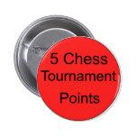 puntos del torneo del rojo 5 pin
