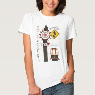 Puntos del viaje de San Francisco Camisas