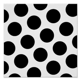 Puntos diagonales negros grandes impresiones