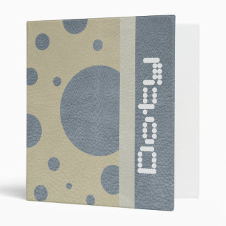 """Puntos dispersados gris en la textura de cuero de carpeta 1"""""""