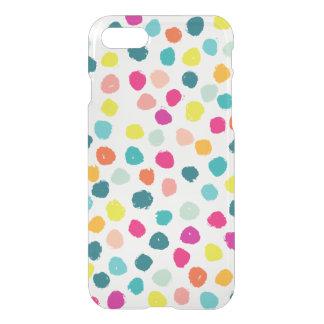 Puntos felices incompletos del color funda para iPhone 7