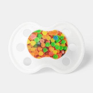 Puntos gomosos del arco iris - impresión del chupetes de bebe