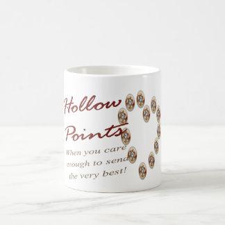 Puntos huecos - cuando usted cuida bastante para e taza de café